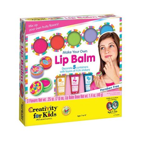 Creativity for Kids Make Your Own Lip Balm Craft Kit, Fruity Flavors