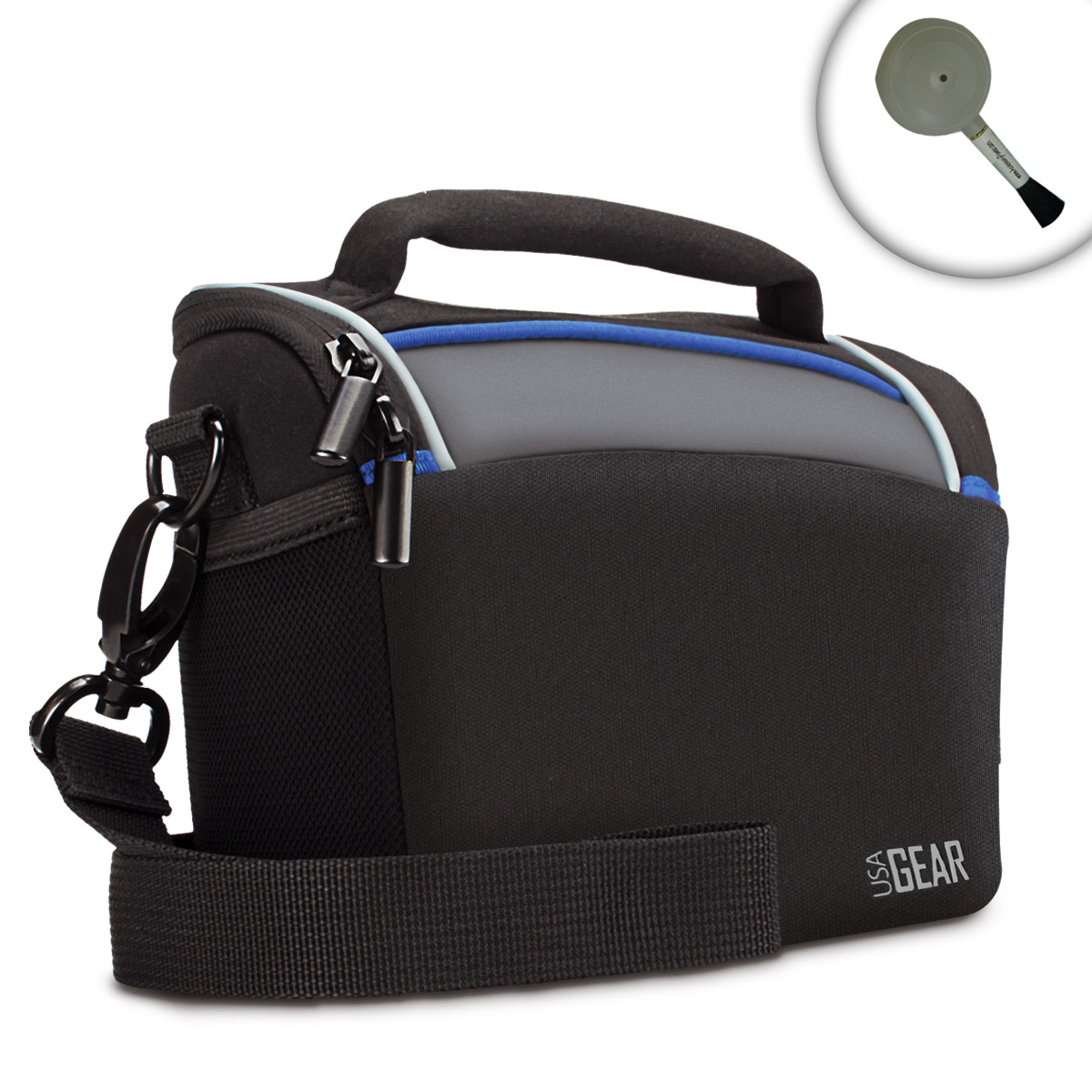Durable Protective Digital Camera Bag With Airbrush For Panasonic Cams by USA Gear