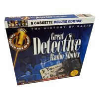The History of Radio: 16 Classic Old Time Radio DETECTIVE SHOWS from the 1940s & 1950s on 8 Audiobook Cassettes