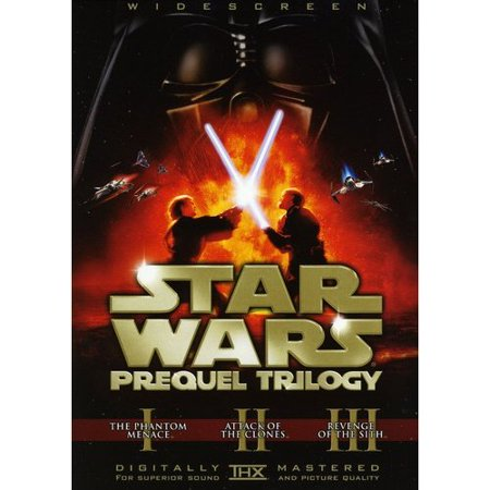 Star Wars Prequel Trilogy: The Phantom Menace / Attack Of The Clones / Revenge Of The Sith (Widescreen)