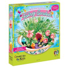 Wee Enchanted Fairy Garden - Craft Kit by Creativity for - Wood Crafts For Kids