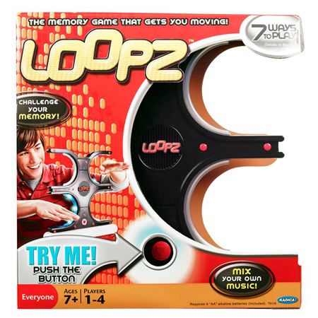 Loopz Game Multi-Colored