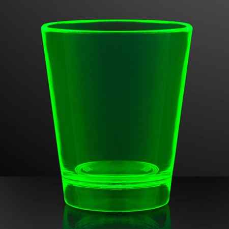Glow In The Dark Shot Glass Green by Blinkee](Glow In The Dark Shots)