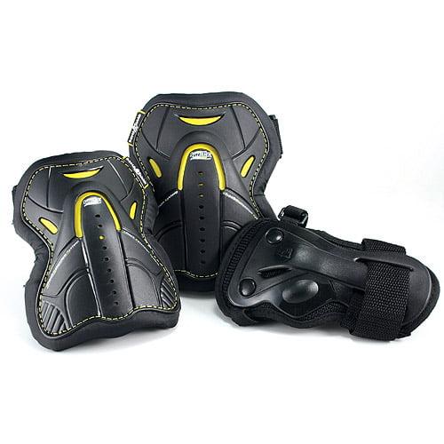 Roller Derby Pro 360 Elite Skater's Protective Padding 3-Pack