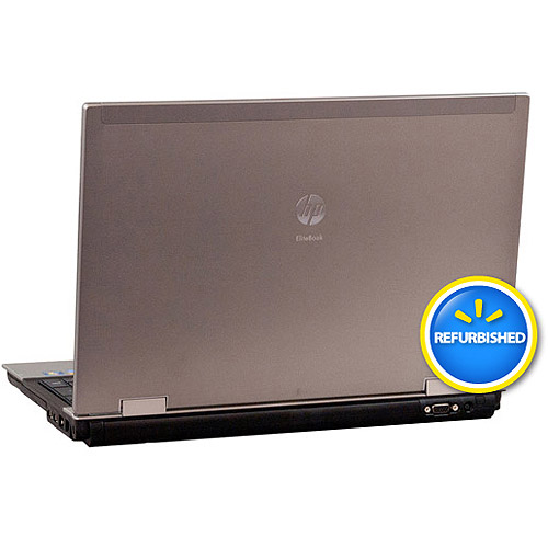 "HP Refurbished Silver 15.5"" EliteBook 8540P Laptop PC with Intel Core i7 Processor, 4GB Memory, 250GB Hard Drive and Windows 7 Professional 64-bit"