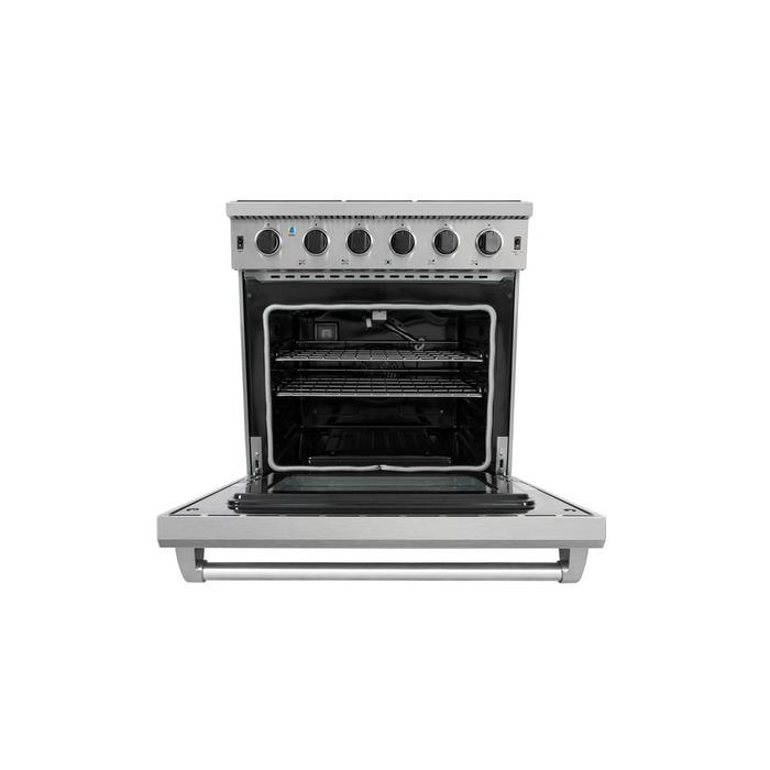 Thor Kitchen Lrg3001u 30 In 4 55 Cu Ft Professional Gas Range In Stainless Steel Walmart Canada