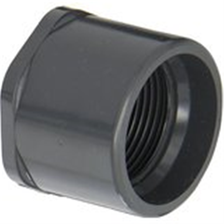 - Spears 838 Series PVC Pipe Fitting, Bushing, Schedule 80, 3/4
