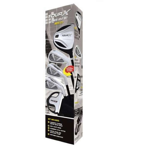 Merchants of Golf Tour X Size 3 Ages 12+ 5pc Jr Set with Stand Bag by Merchants of Golf