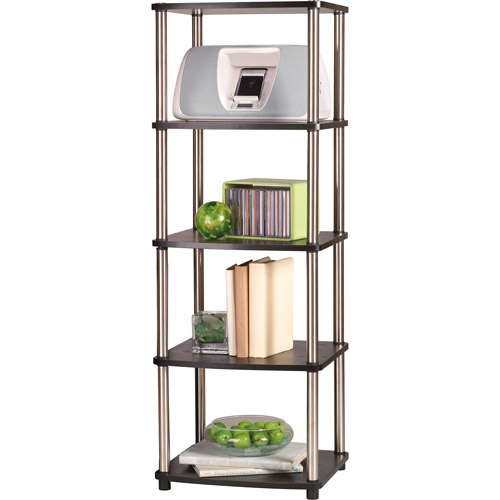 Convenience Concepts Designs2Go No Tools 5 Tier Media Tower