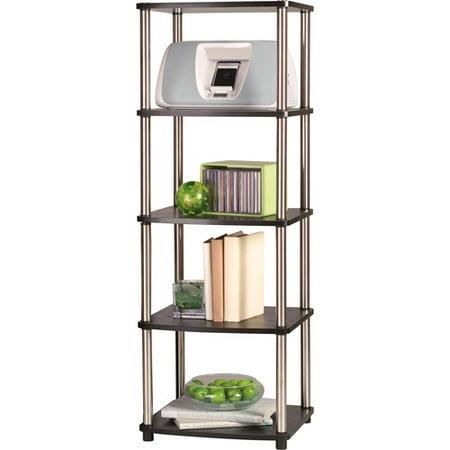 Designs 2 Go 5-Tier Media Tower by Convenience Concepts