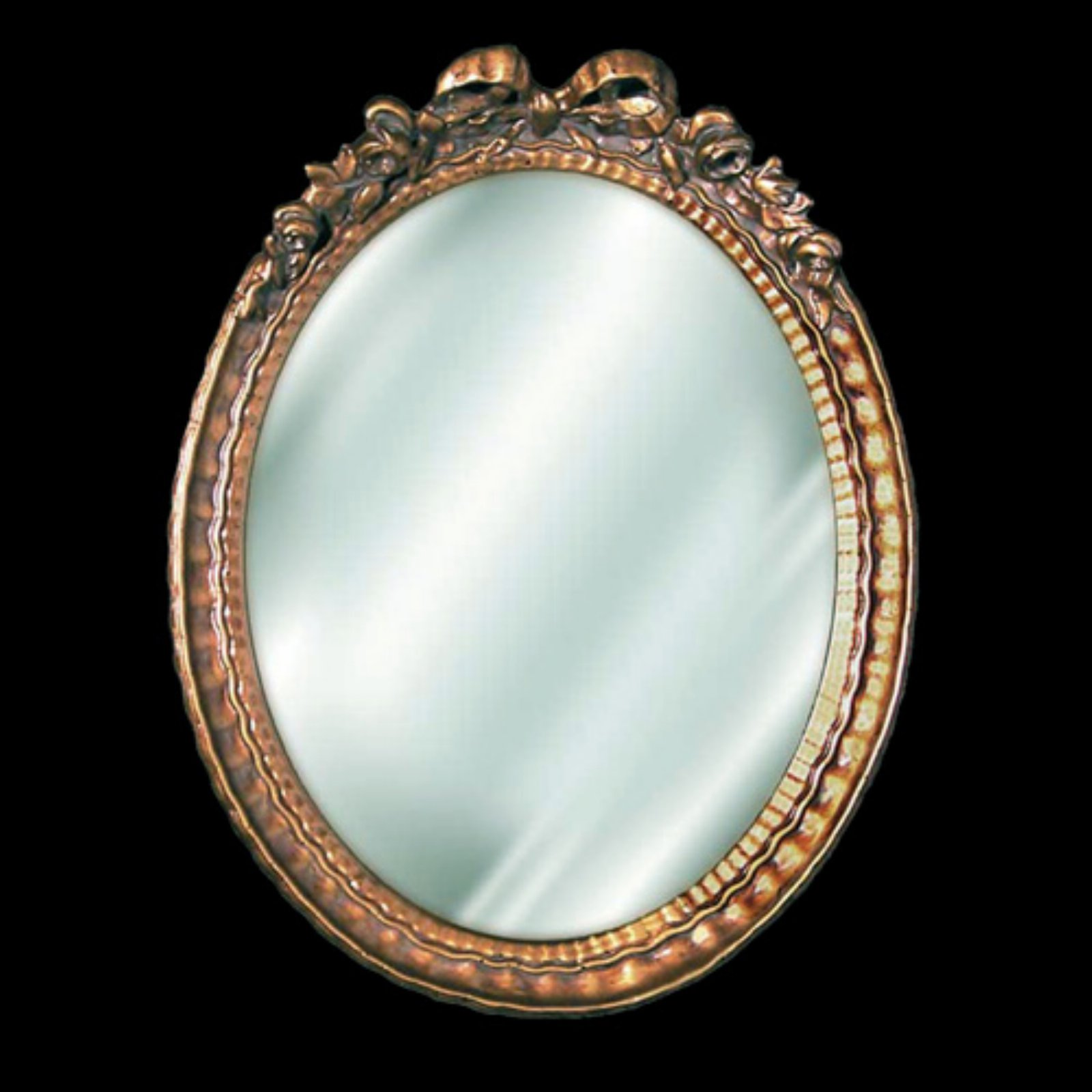 Hickory Manor House Small Oval Bow Mirror - 9.5W x 12H in.