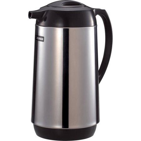 - zojirushi polished stainless steel vacuum insulated thermal carafe, 1 liter