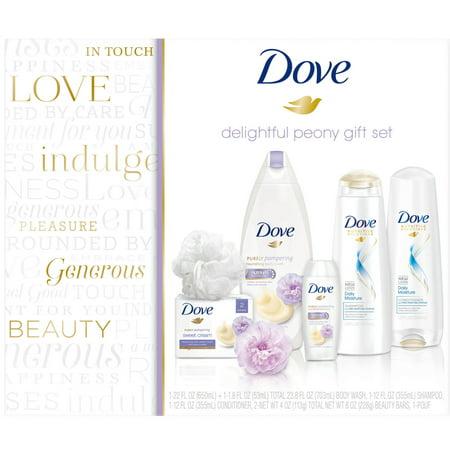 Dove Walmart Delightful Peony Female Gift Set