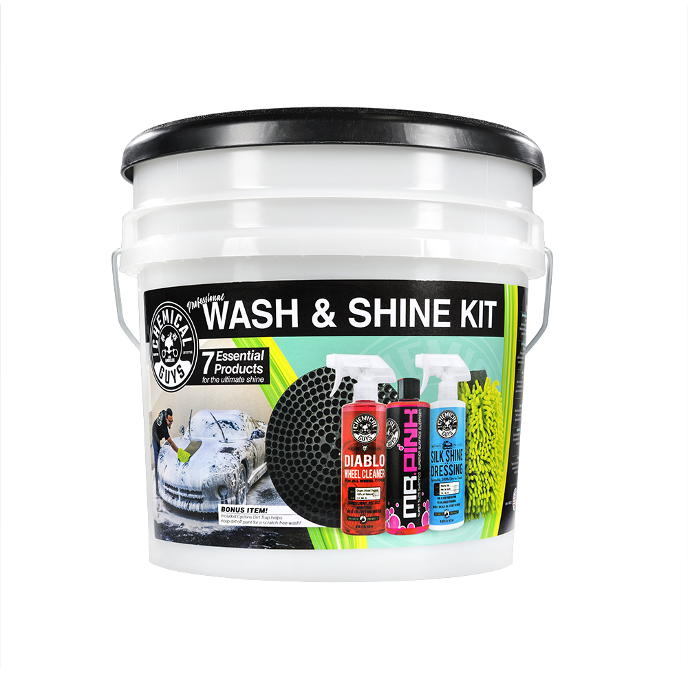 Chemical Guys 7 Piece Wash & Shine Kit