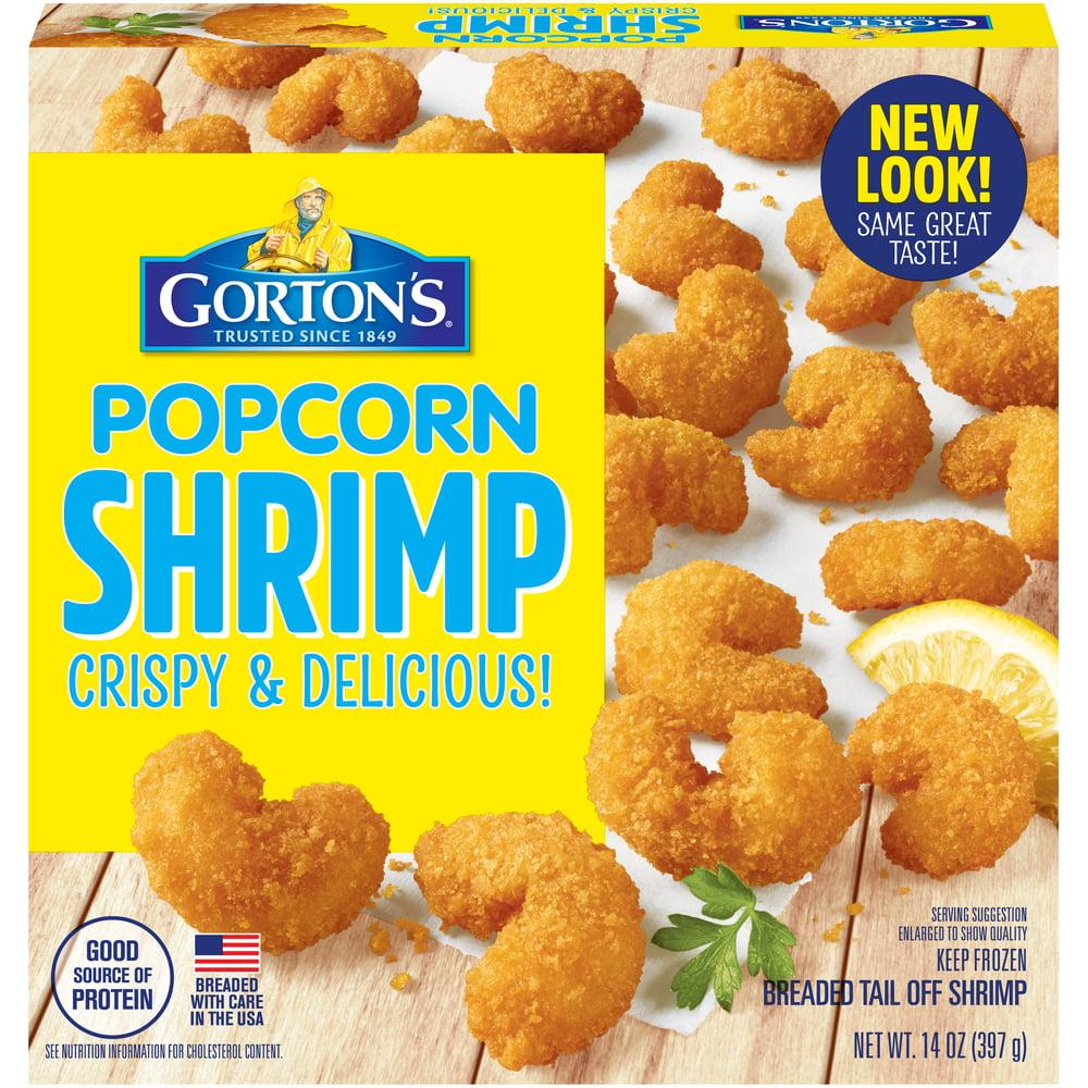 Gorton S Popcorn Shrimp 14 Oz Walmart Com Walmart Com