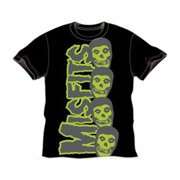 Misfits Men's Vertical Subway T-shirt Small Black