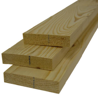 Alexandria Moulding Inc 1x4x4 Common Board