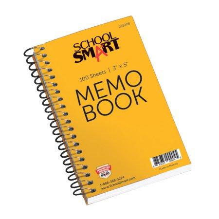 Characters Memo Sheets - School Smart Side Opening Memo Notebook, 3