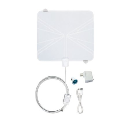 Winegard Rayzar Rv-rz85 Amplified Tv Antenna - Range - Vhf, Uhf - Television - Usb (rv-rz85)