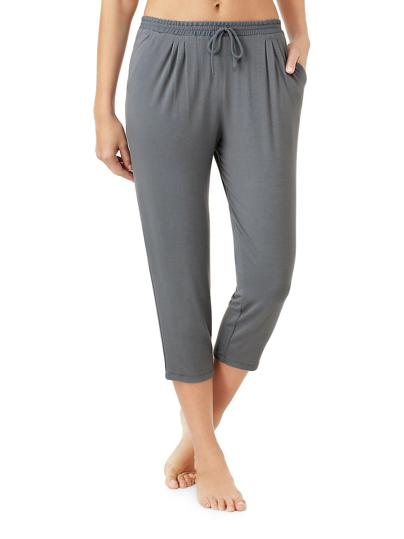 Cropped Pajama Pants