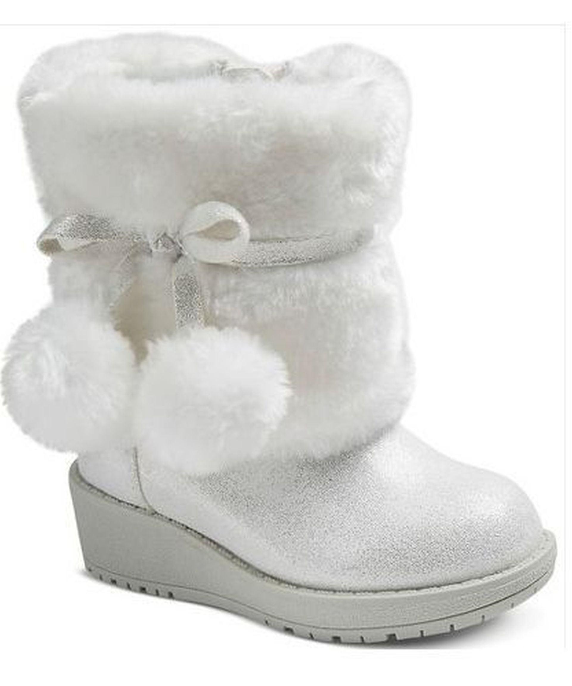 Cherokee Darica Girls Faux Fur Boots