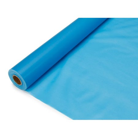 Plastic Table Cover Roll - Turquoise - 40 inches x 100 feet for $<!---->