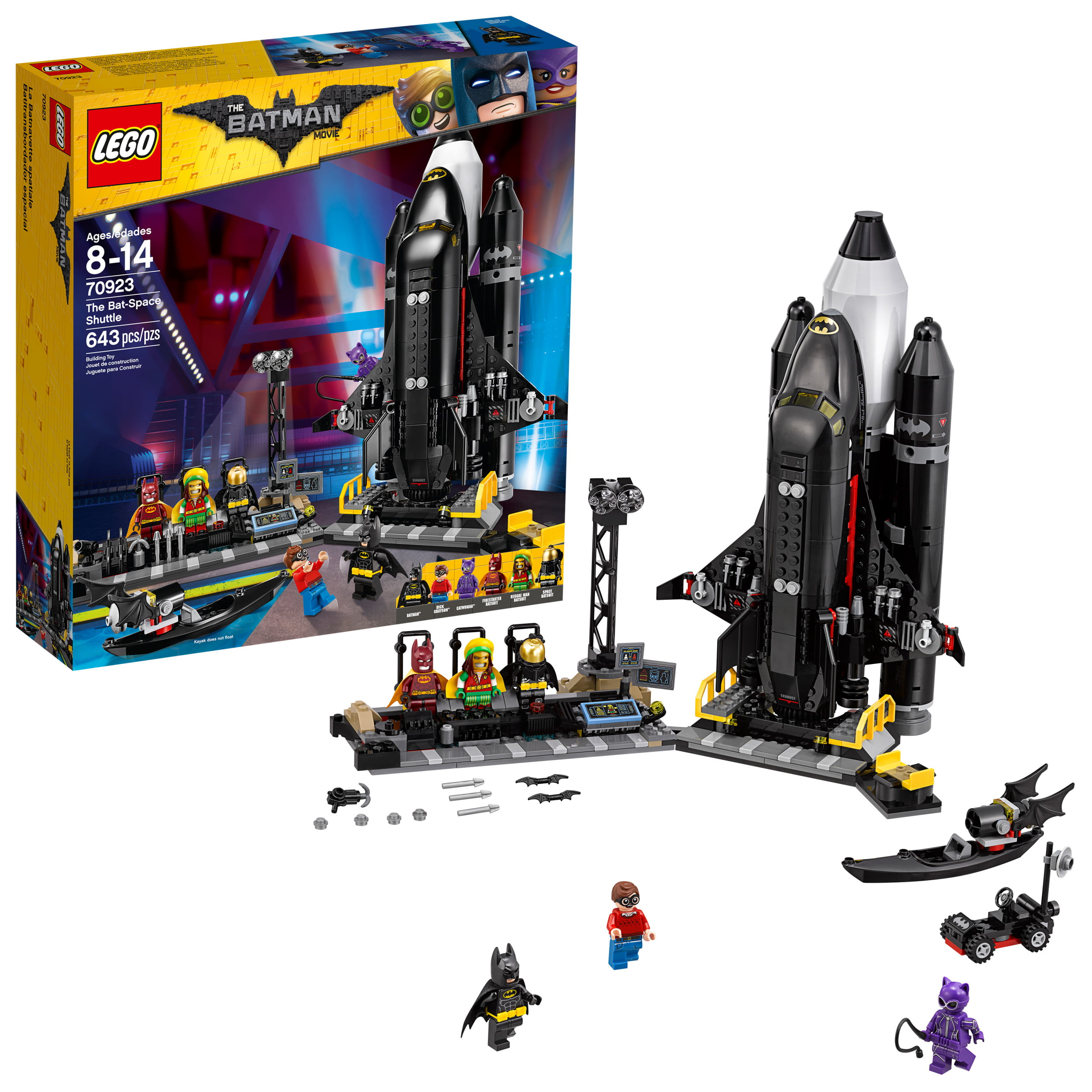 Click here to buy Lego Batman Movie The Bat-Space Shuttle 70923 by LEGO System Inc.