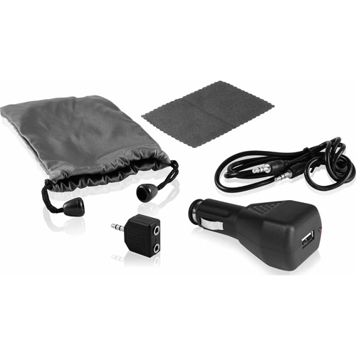 Ematic 5-in-1 Universal Accessory Kit for Apple iPods and MP3 Players