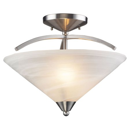 - Elk Lighting Elysburg 7633-2 Semi Flush Mount Light