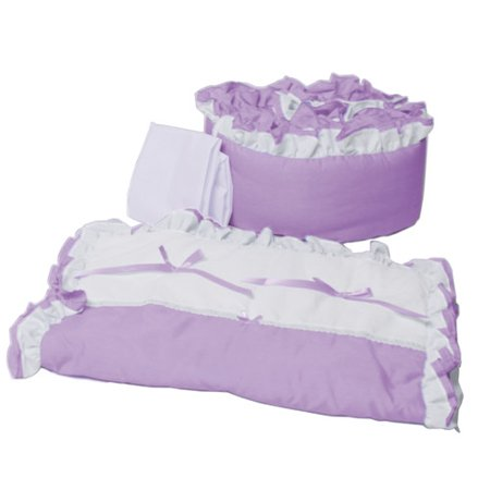 Baby Doll Bedding 3 Piece Portable/Mini Crib Bedding Set