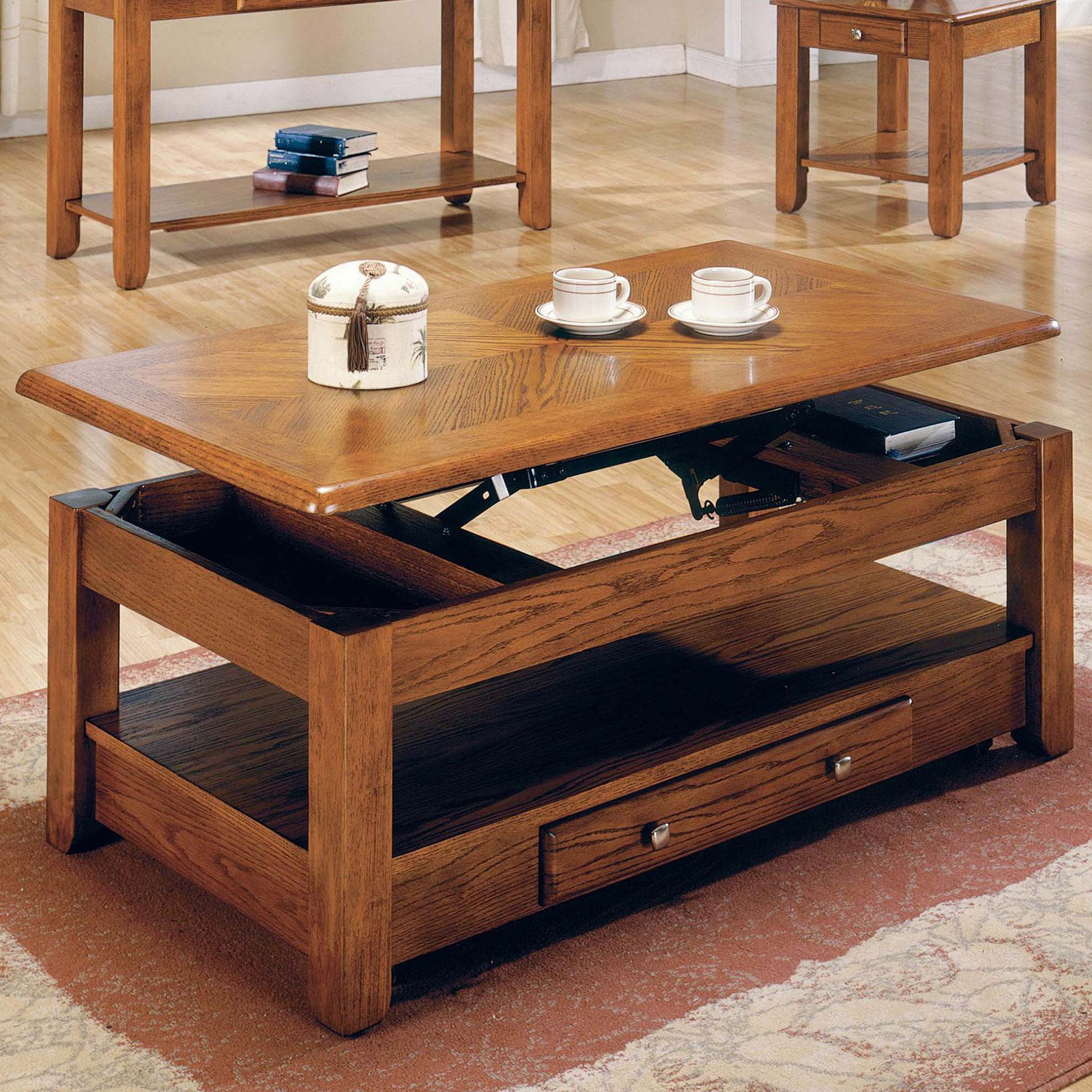 Steve Silver End Table Steve Silver Desoto 4 Piece Coffee Table