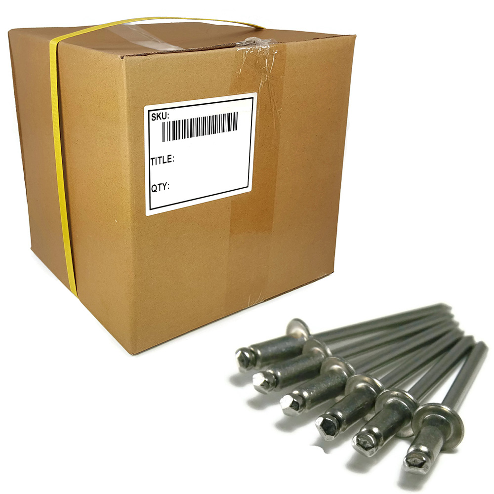 "POP Rivets ALL Stainless Steel 4-8 1//8/"" x 1//2/"" Grip Range QTY 100"