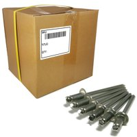 "Stainless Steel Pop Rivets 4-8, 1/8"" x 1/2"" Grip (0.376-0.500) Blind Rivet Bulk Box - 10,000 pieces"