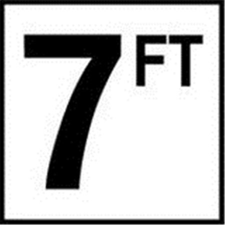 6 in. No Skid Ceramic Tile - 7 FT - image 1 of 1