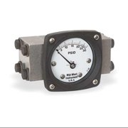 MIDWEST INSTRUMENT 140-SA-00-OO-30P Pressure Gauge,0 to 30 psi