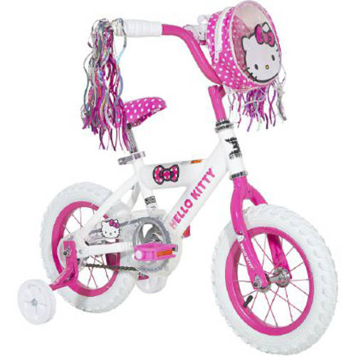 "12"" Dynacraft Girl's Hello Kitty Bike"