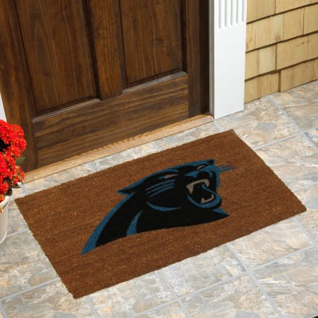 Colored Door Mat, Carolina Panthers - Generic Brand