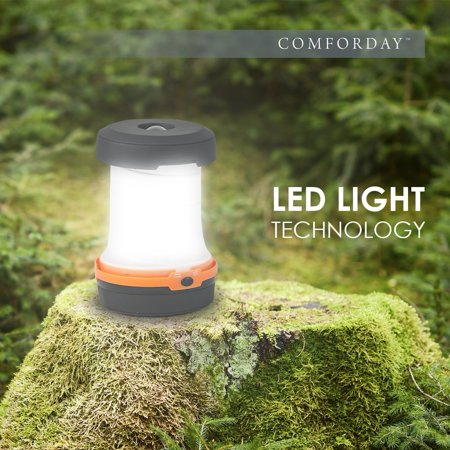 Portable LED Camping Lantern, Outdoor Flashlights Water Resistant Ultra Bright LED Lantern for Hiking, Emergencies, Hurricanes, Outages, Storms, Camping, Fishing