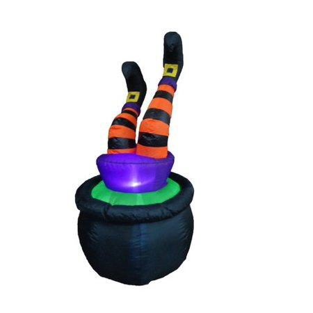 The Holiday Aisle Halloween Inflatable Witch in - Halloween Germany Holiday