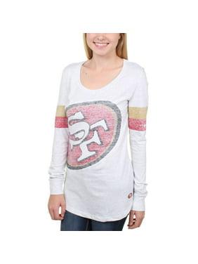 San Francisco 49ers Nike Women's Take it Long Long Sleeve T-Shirt - White