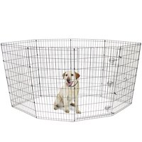 "Vibrant Life 42""H Indoor & Outdoor Pet Exercise Play Pen"