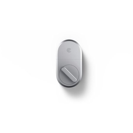 August Home Smart Lock, 3rd Generation Technology, Silver