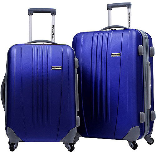 """Traveler's Choice Toronto 25"""" and 21"""" Expandable Spinner Luggage Set, Multiple Colors"""