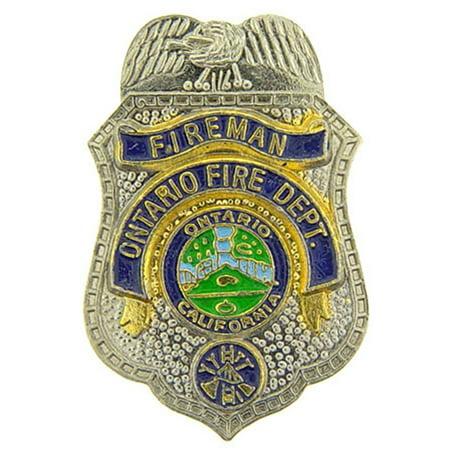 Ontario California Fire Department Pin (Ontario Mills California)