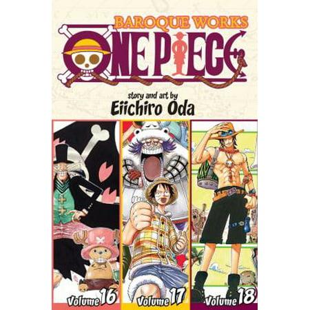 One Piece Baroque Works 16 17 18  Shonen Jump Manga Omnibus Edition