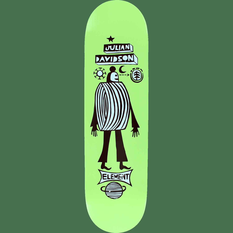 Element El Julian Los Amigos Skateboard Deck -8.31 Feathe...