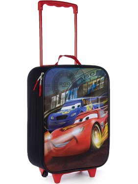 c4c5c5a7e Product Image Disney Cars 16 Inch Kids Pilot Case - Rolling Travel Luggage  - Carry on Approved