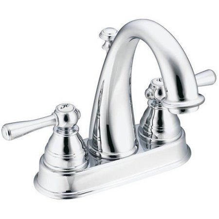 Moen 6121P Kingsley Centerset Bathroom Faucet, Available in Various Colors