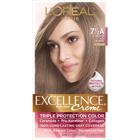 L Oreal Paris Excellence Creme 7 5a Medium Ash Blonde 1