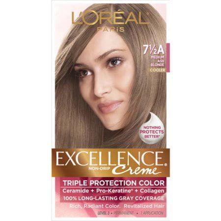 L Oreal Paris Excellence Creme Permanent Hair Color Walmart Com